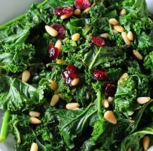Sauteed Kale Pine Nuts